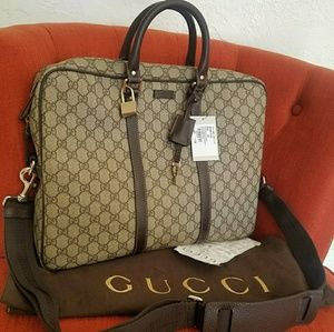 New briefcase diaperbag travel bag AUTHENTIC gucci